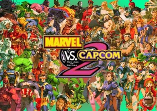 official marvel vs capcom 2 character list