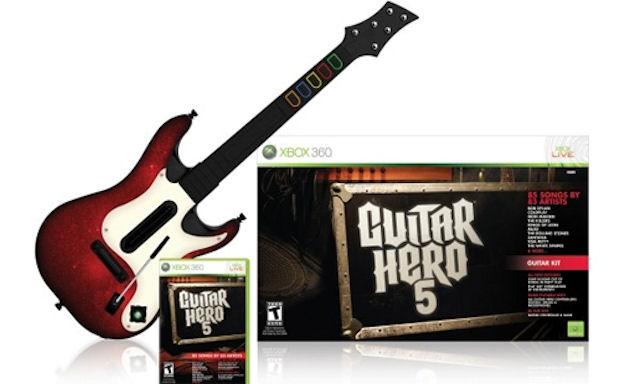 Pre-order the Guitar Hero 5 - Guitar Bundle for Xbox 360