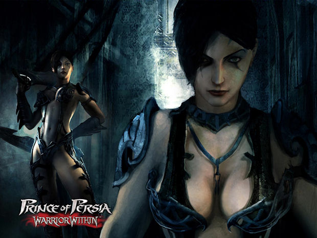 Prince of Persia: The Dominatrix character art