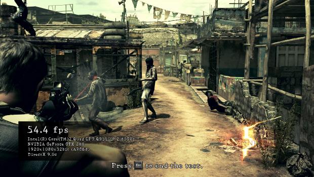 Resident evil 5 benchmark results 3d vision blog.