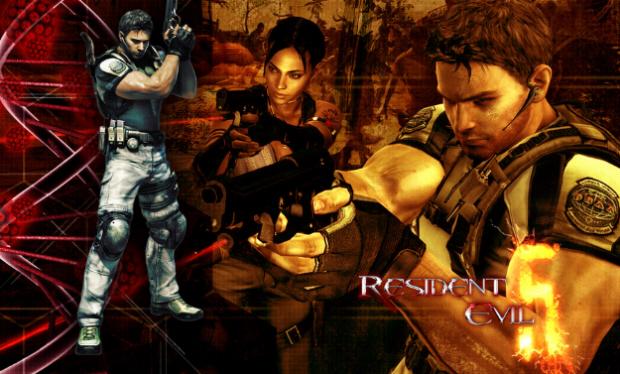 Resident Evil 5 Characters Wallpaper
