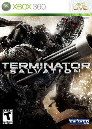 Terminator Salvation box artwork (Xbox 360)