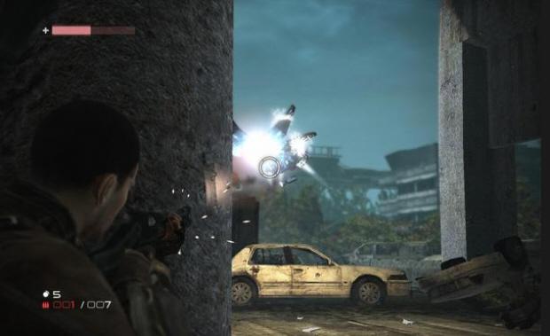 Terminator Salvation Aerostat battle screenshot