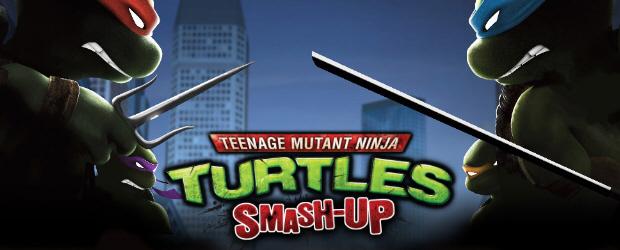 TMNT: Smash Up character artwork banner
