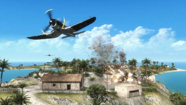 Battlefield 1943 explosive screenshot