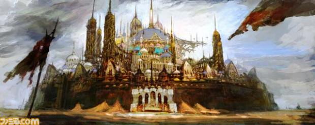 Final Fantasy XIV - Urudaha: The City of Sand concept art