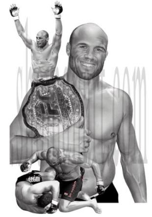 Randy Couture artwork. Joins EA Sports MMA as co-headliner with Fedor Emelianenko