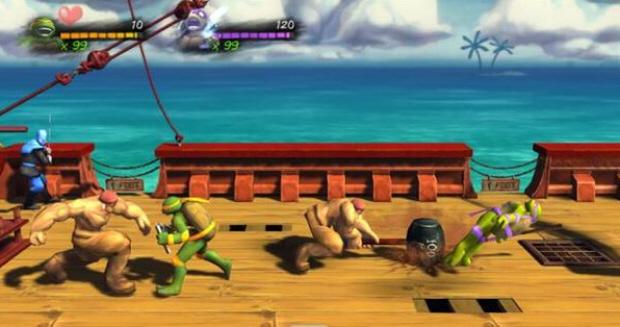 Teenage Mutant Ninja Turtles: Turtles In Time Re-Shelled gameplay screenshot