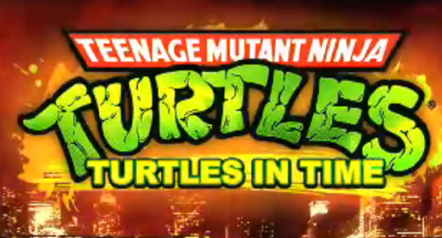 Turtles in Time Re-Shelled logo