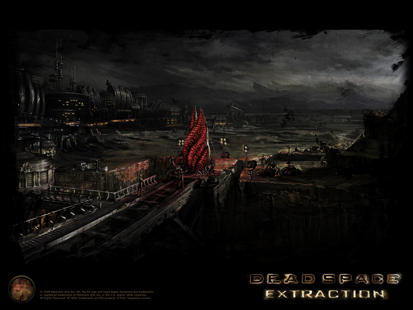 Dead Space Extraction wallpaper