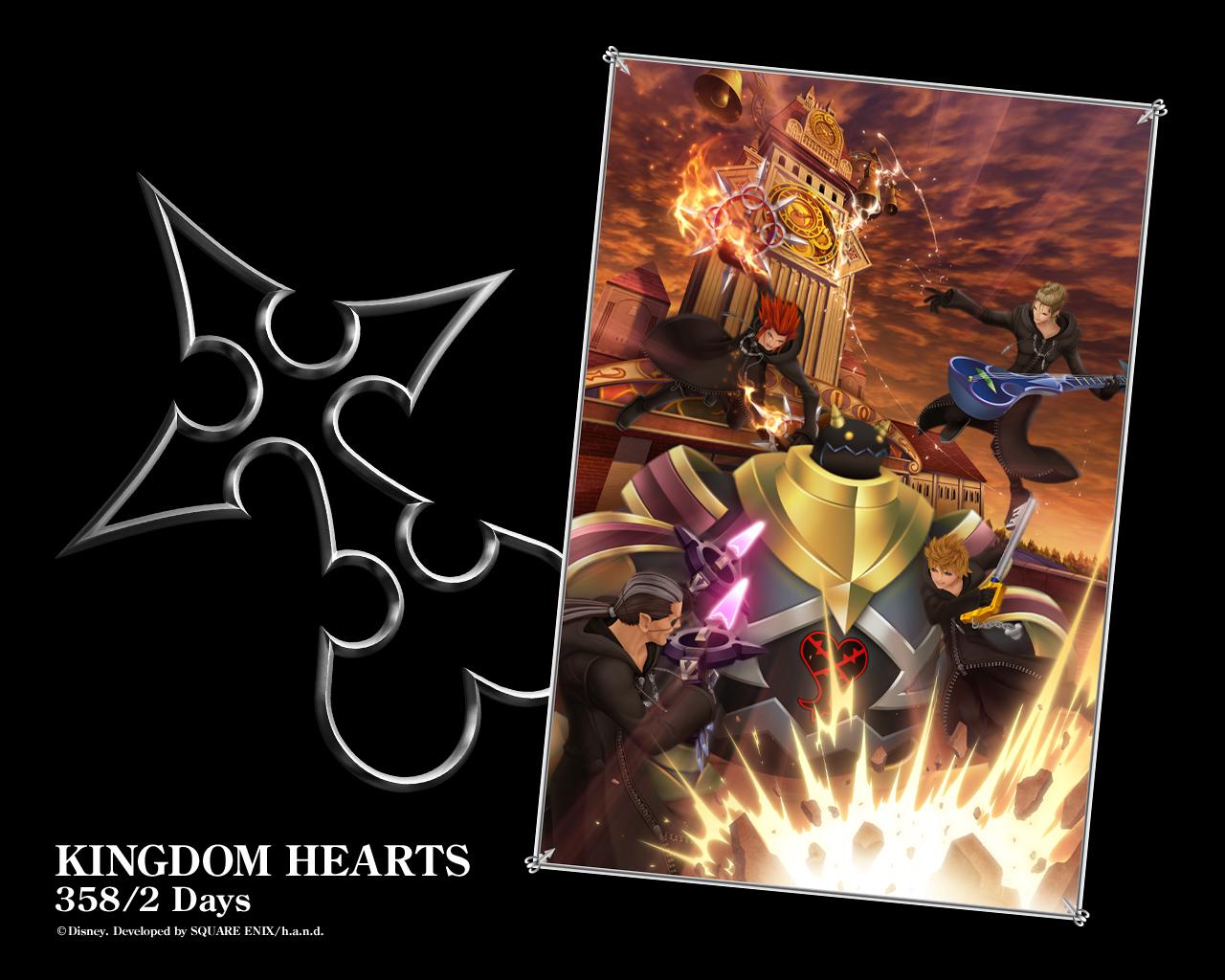 Kingdom Hearts 358 1 2 Days Wallpaper 5 1280 1024