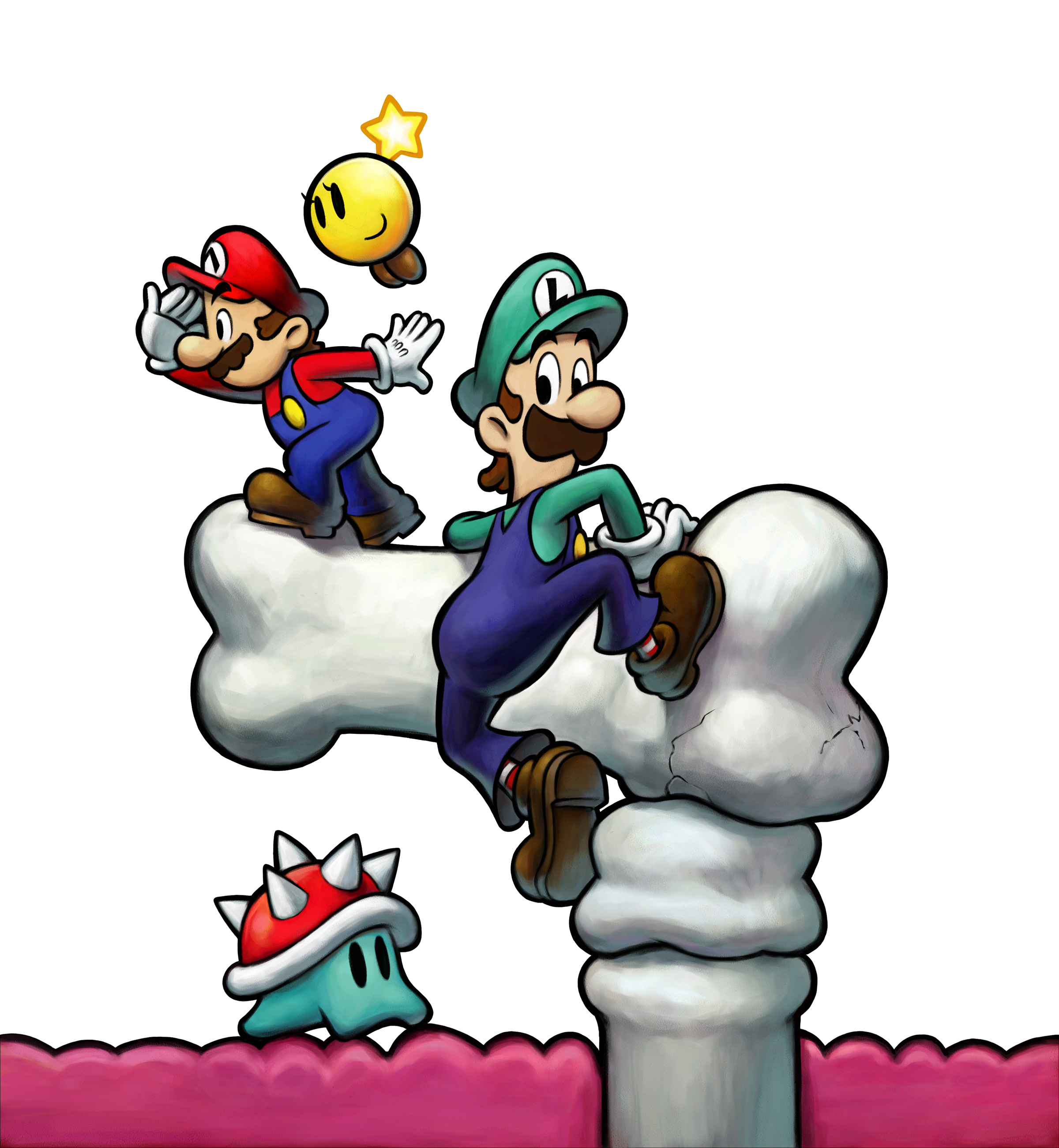 Mario And Luigi 3 Bowsers Inside Story Wallpaper 5