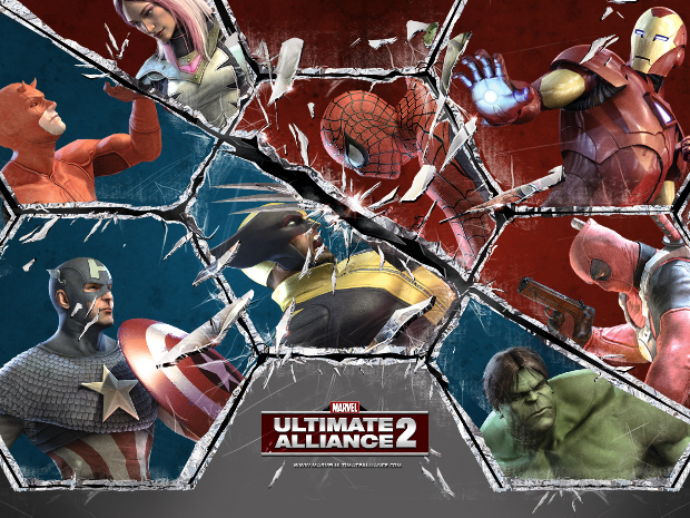 official marvel ultimate alliance 2 character list