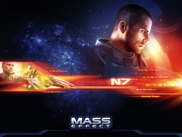 Mass Effect wallpaper of Commander Shepard