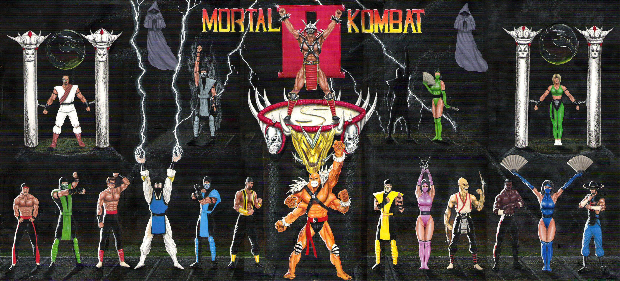 Mortal Kombat 2 wallpaper