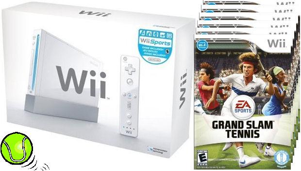Nintendo Wii Grand Slam Tennis competition