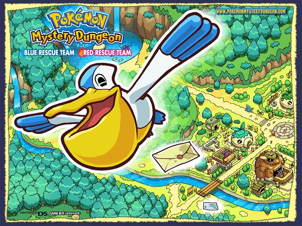 Pokemon Mystery Dungeon 2 Wallpaper