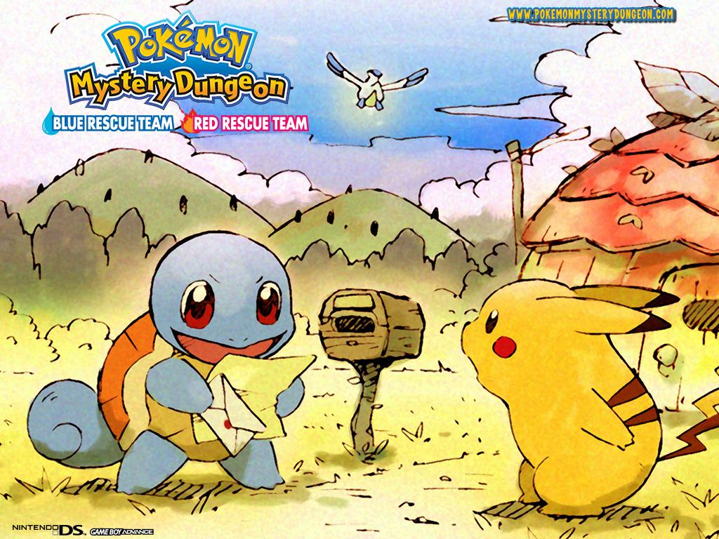Pokemon Mystery Dungeon Blue Red Rescue Team Wallpaper 5