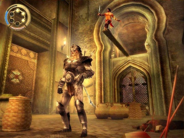 Prince of Persia: The Two Thrones environment screenshot