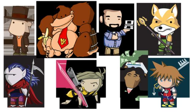 Scribblenauts characters wallpaper
