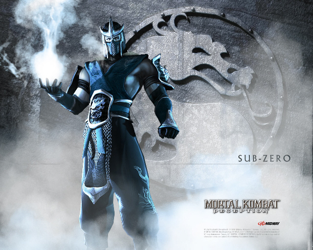 Sub-Zero wallpaper (Mortal Kombat: Deception)