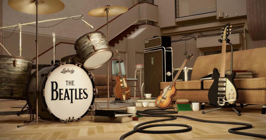 The Beatles Rock Band wallpaper