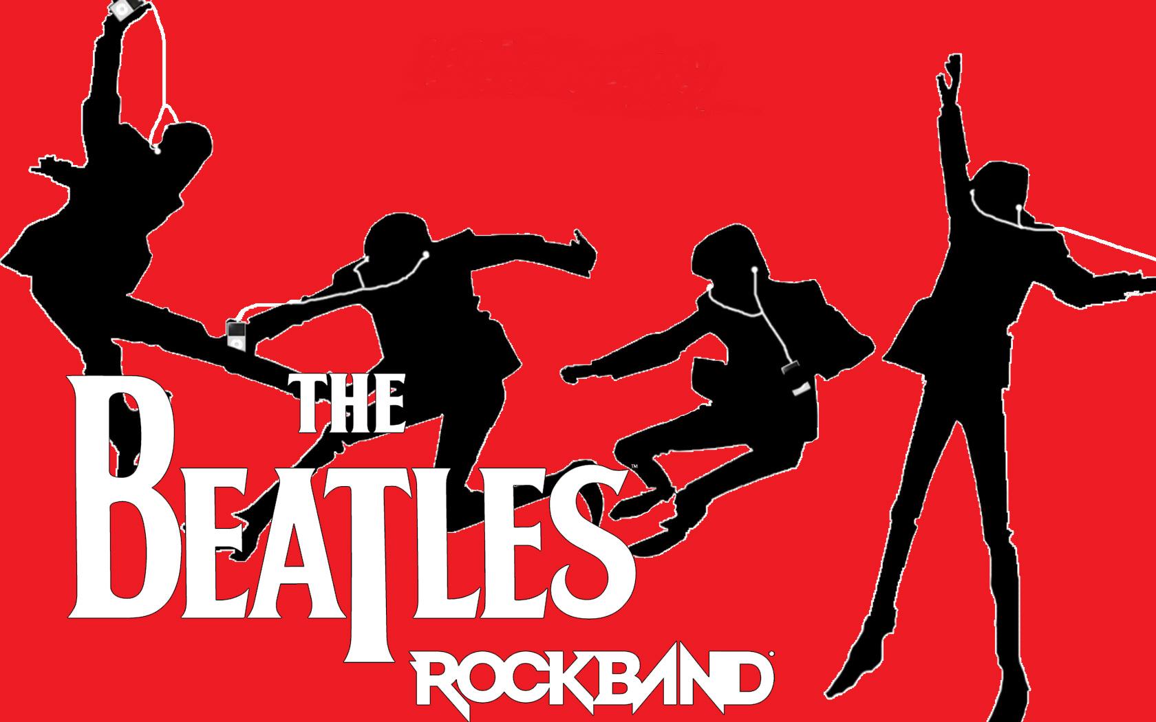 The Beatles Rock Band IPhone Wallpaper