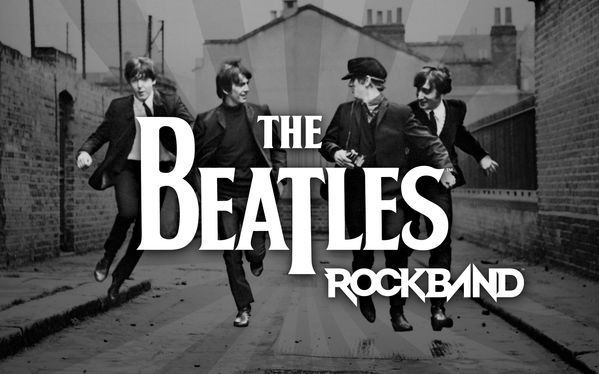The Beatles Rock Band Wallpaper