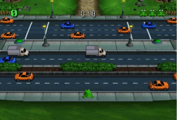 Frogger Returns screenshot (PSN, WiiWare)