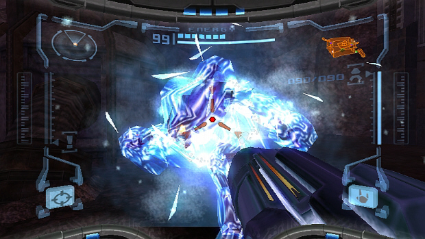 Ice Beam Metroid Prime screenshot