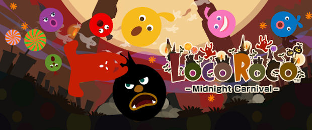 LocoRoco Midnight Carnival PSP logo