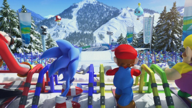 Mario and Sonic at the Olympic Winter Games characters