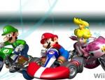 Mario Kart Wii Peach-Luigi wallpaper
