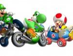 Mario Kart Wii Toad-Yoshi wallpaper