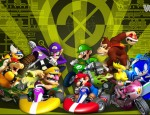 Mario Kart Wii wallpaper clash