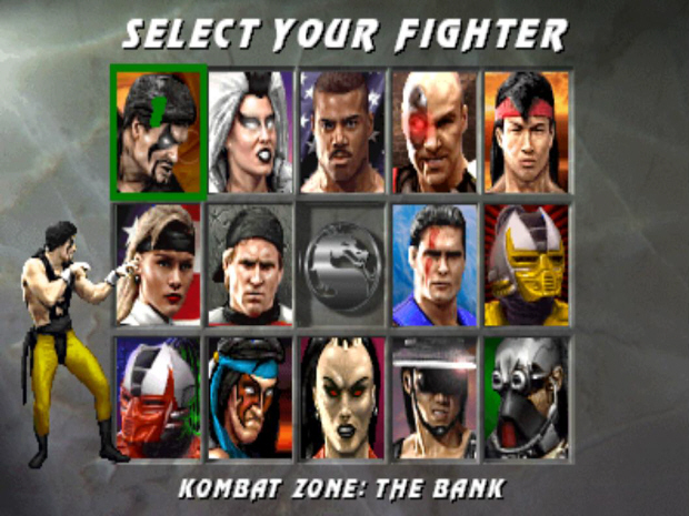 Mortal Kombat 3 Character Screenshot Wallpaper