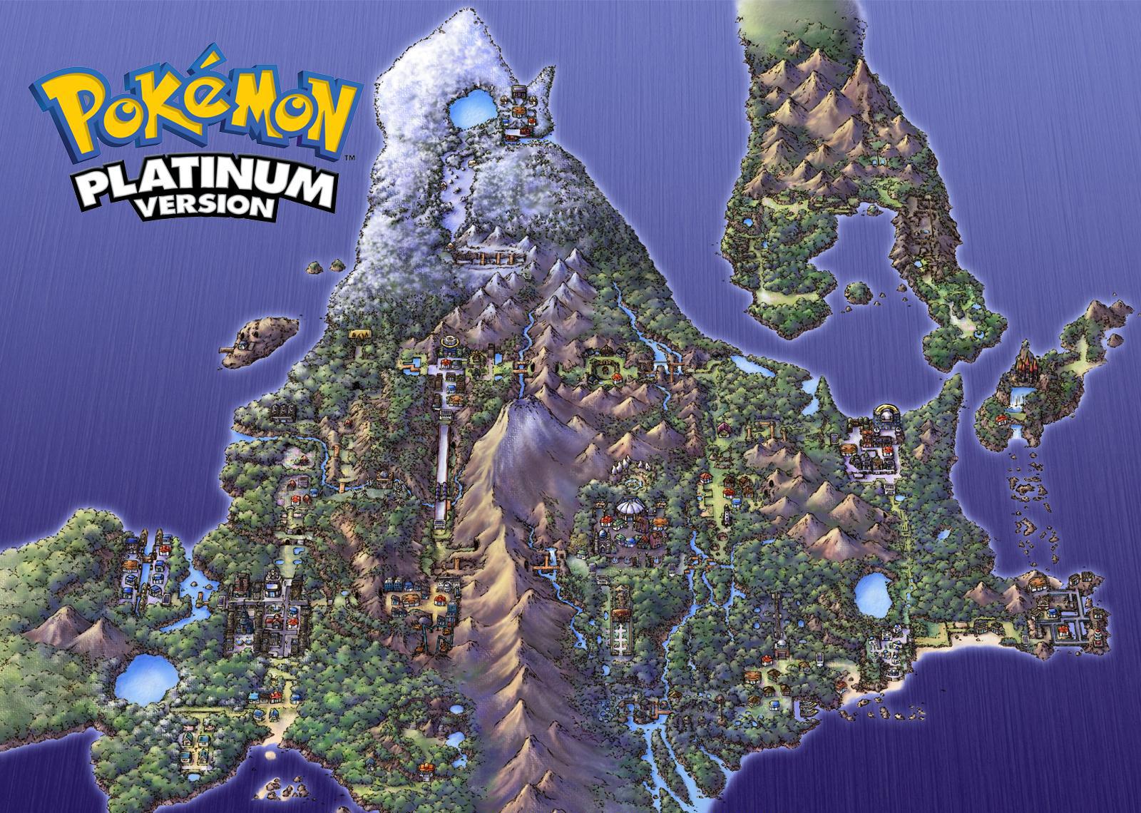 Pokemon Platinum Wallpaper