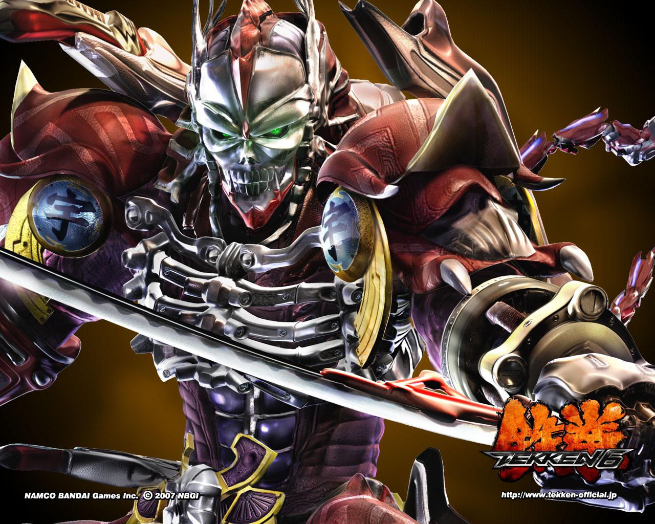 Yoshimitsu Tekken 6 Wallpaper 1280 1024