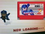 3D Dot Game Heroes Mega Man Load Screen