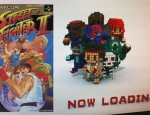 3D Dot Game Heroes Street Fighter Load Screen