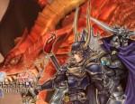 Dissidia FF1 Warrior of Light vs Garland FFI wallpaper