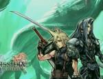 Dissidia FF7 Cloud vs Sephiroth FFVII wallpaper