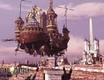 Final Fantasy IX airship wallpaper