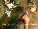 Final Fantasy VIII Love wallpaper Squall Rinoa