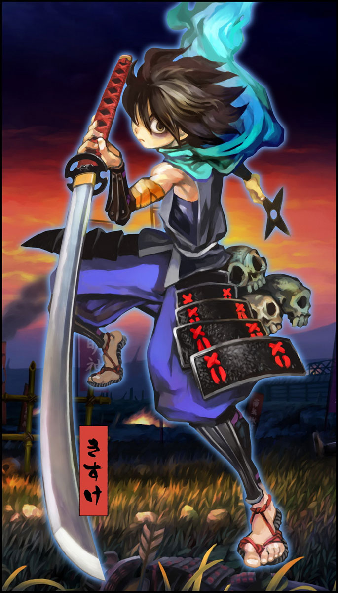Official Muramasa The Demon Blade Characters List