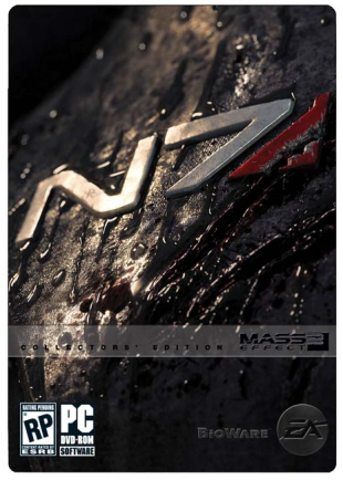 Mass Effect 2 Special Collector's Edition box artwork