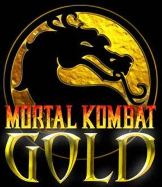 Mortal Kombat Gold for Dreamcast (logo)