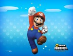 New Super Mario Bros characters wallpaper