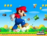 New Super Mario Bros Giant Mario wallpaper