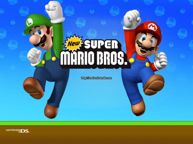 New Super Mario Bros Wallpaper